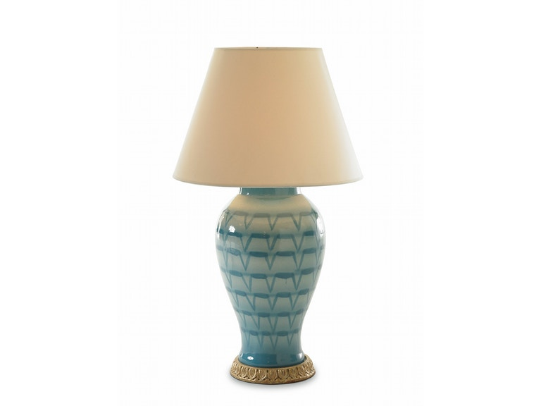 Bunny Williams Home Turquoise Lamp BLH1122