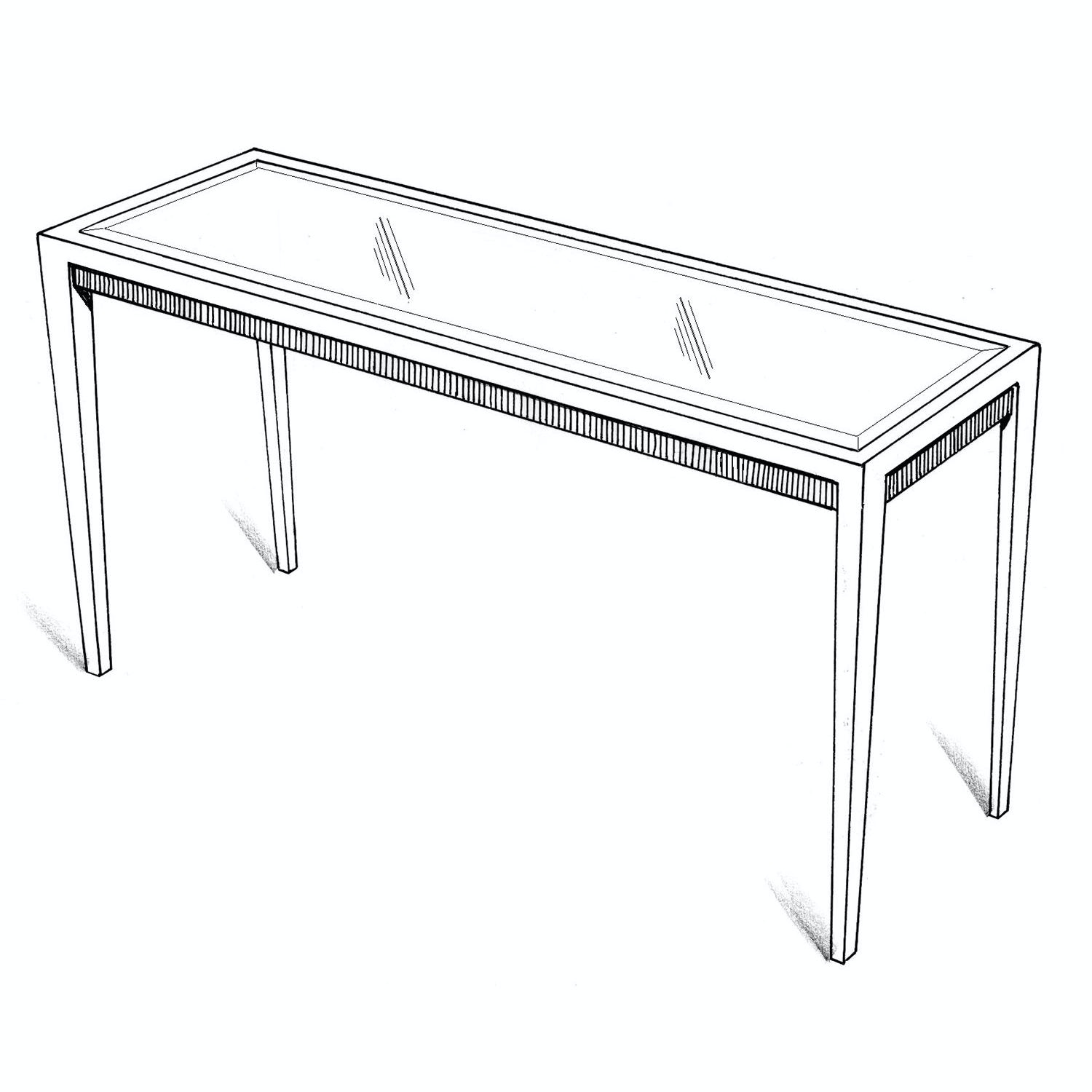 Lee Jofa Denton Console Table 48u0027u0027 Denton/48