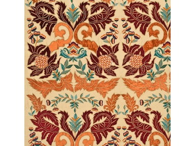 Mulberry Home CONSTANTINE SILK/LINEN PAPRIKA/RED FD690.V148
