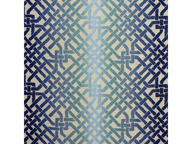 Groundworks OMBRE MAZE TEAL GWF-2806.513