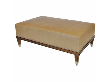 Lee Jofa Grid  Large Rectangle Ottoman H4621-60