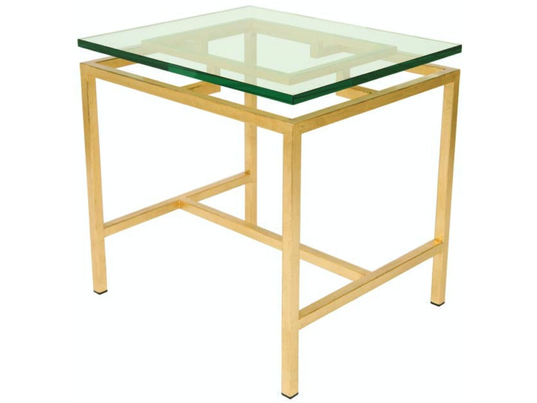 Lee Jofa Napa Glass Top Lamp Table Napa/G26LP