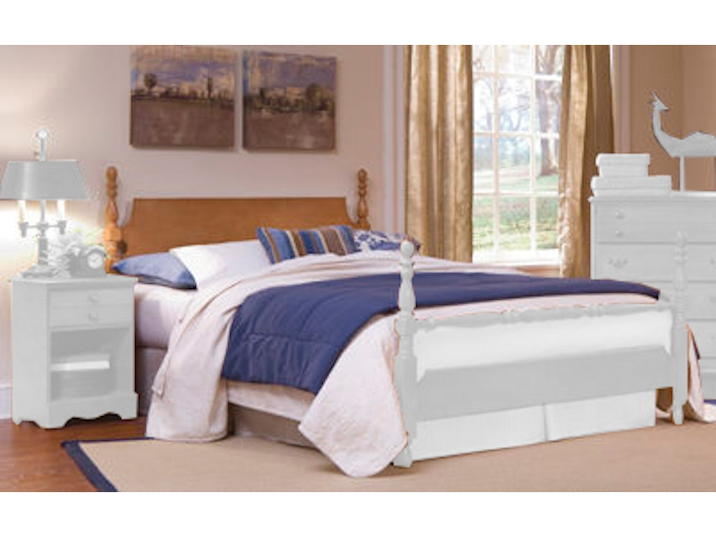 Carolina Furniture Works Bedroom Poster Footboard 157243 Pittsfield Furniture Co Pittsfield Ma