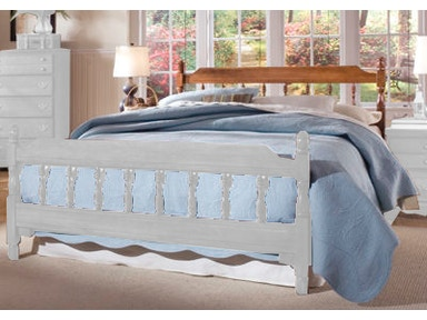 Carolina Furniture Works Spindle Bed 18735 Bed