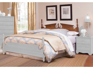 Carolina Furniture Works Panel Bed 18785 Bed