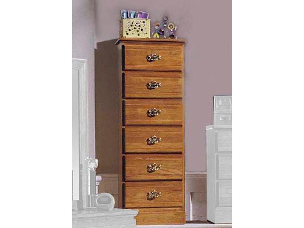 Carolina Furniture Works Bedroom Lingerie Chest 234600 Lynchs Furniture Auburn Auburn Ny