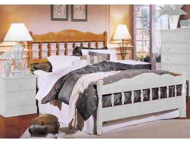 Carolina Furniture Works Spindle Bed 23735 Bed