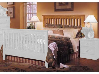 Carolina Furniture Works Slat Bed 23745 Bed