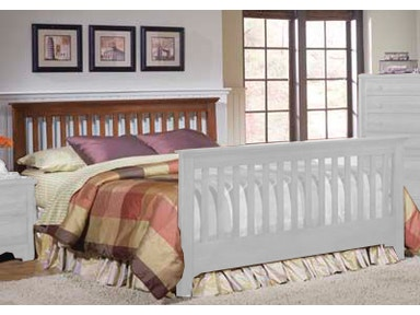 Carolina Furniture Works Slat Bed 31745 Bed