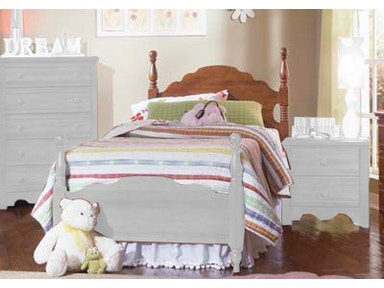 Carolina Furniture Works Panel Bed 31783 Bed