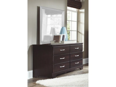 Carolina Furniture Works Double Dresser 475600