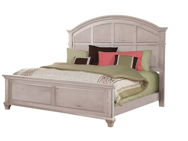American Woodcrafters Panel Bed 2410- Queen Panel Bed