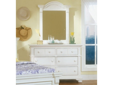American Woodcrafters Youth Bedroom Double Dresser