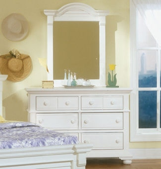 American Woodcrafters Youth Bedroom Double Dresser 6510