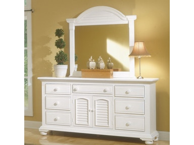American Woodcrafters Youth Bedroom Triple Dresser