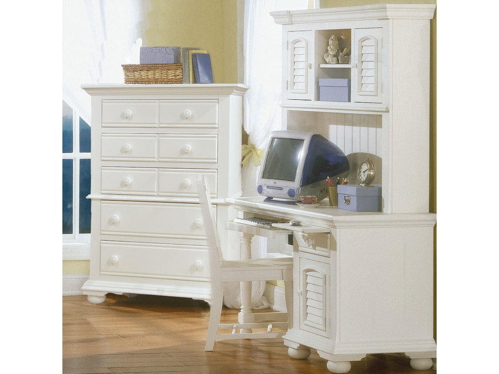 American Woodcrafters Home Office Computer Desk Hutch And