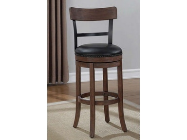 American Woodcrafters Bar Stool B2-208-30L