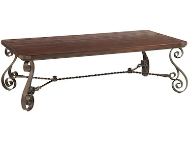 Lexington Cherry Creek Rectangular Cocktail Table 455-945