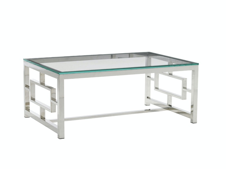 Lexington Russell Glass Top Cocktail Table 458-943C