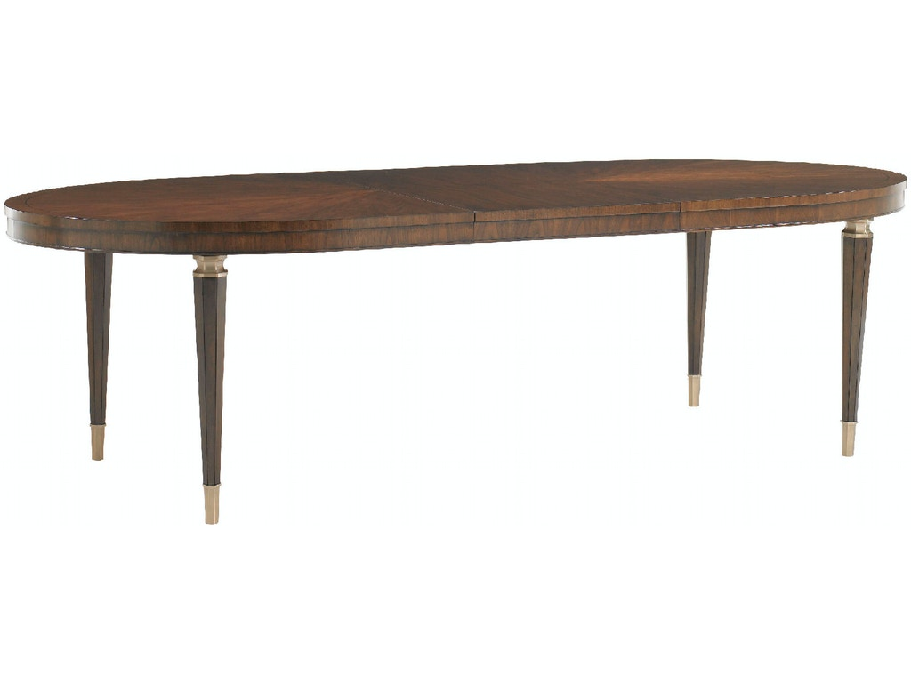 Lexington Dining Room Drake Oval Dining Table 706 872 Woodbridge Interiors
