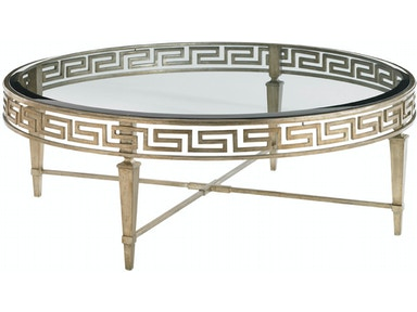 Lexington Deerfield Round Cocktail Table 706-943