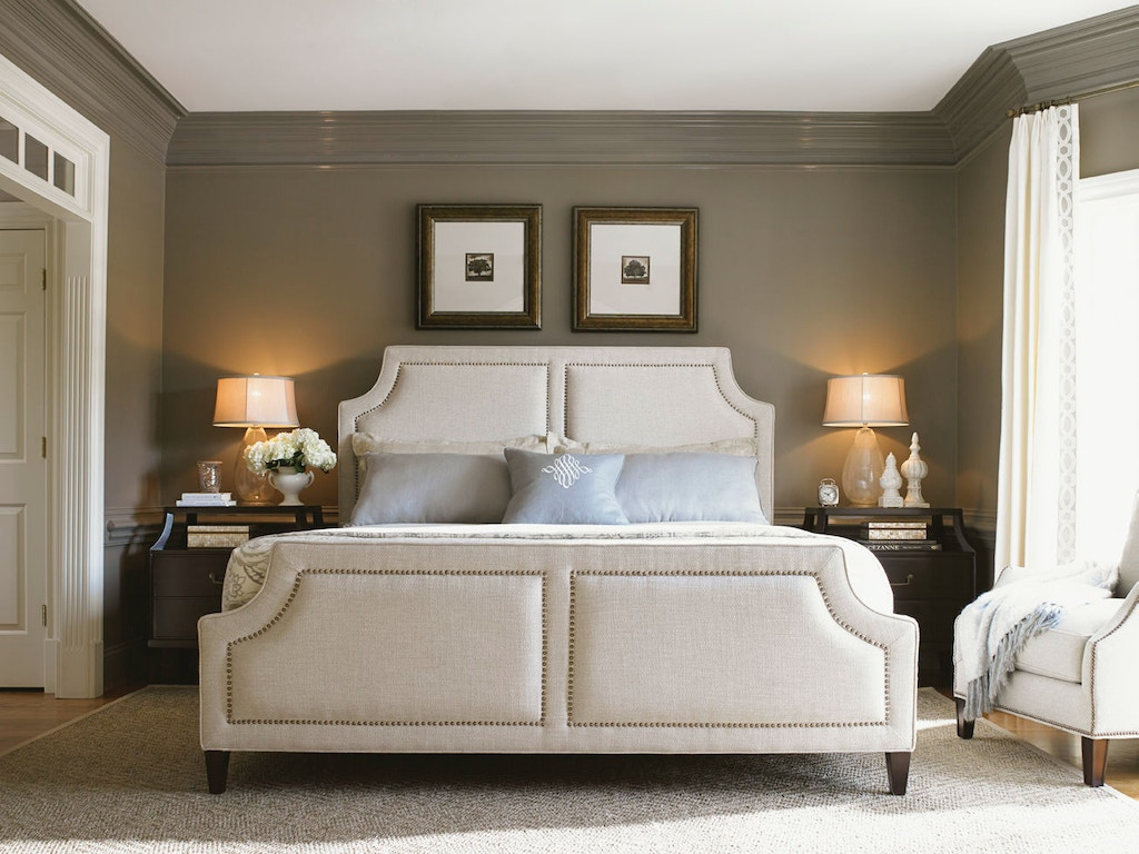 Lexington Bedroom Chadwick Upholstered 6/6 Bed 708-144C - Stacy ...