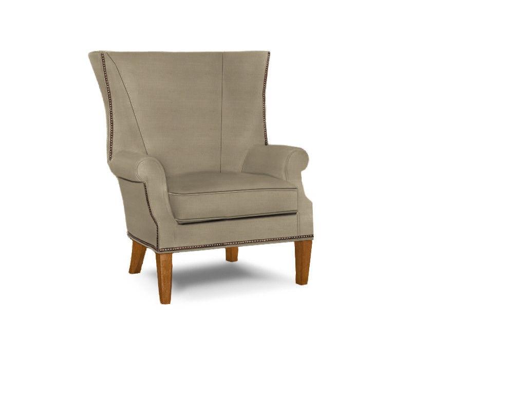 Lexington living room marissa wing chair 7204 11 tuskers for Wing chairs for living room