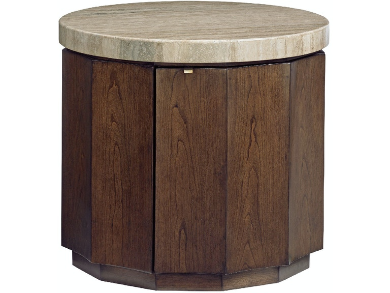 Lexington Living Room Glendora Drum Table 721-950 - Outer Banks ...