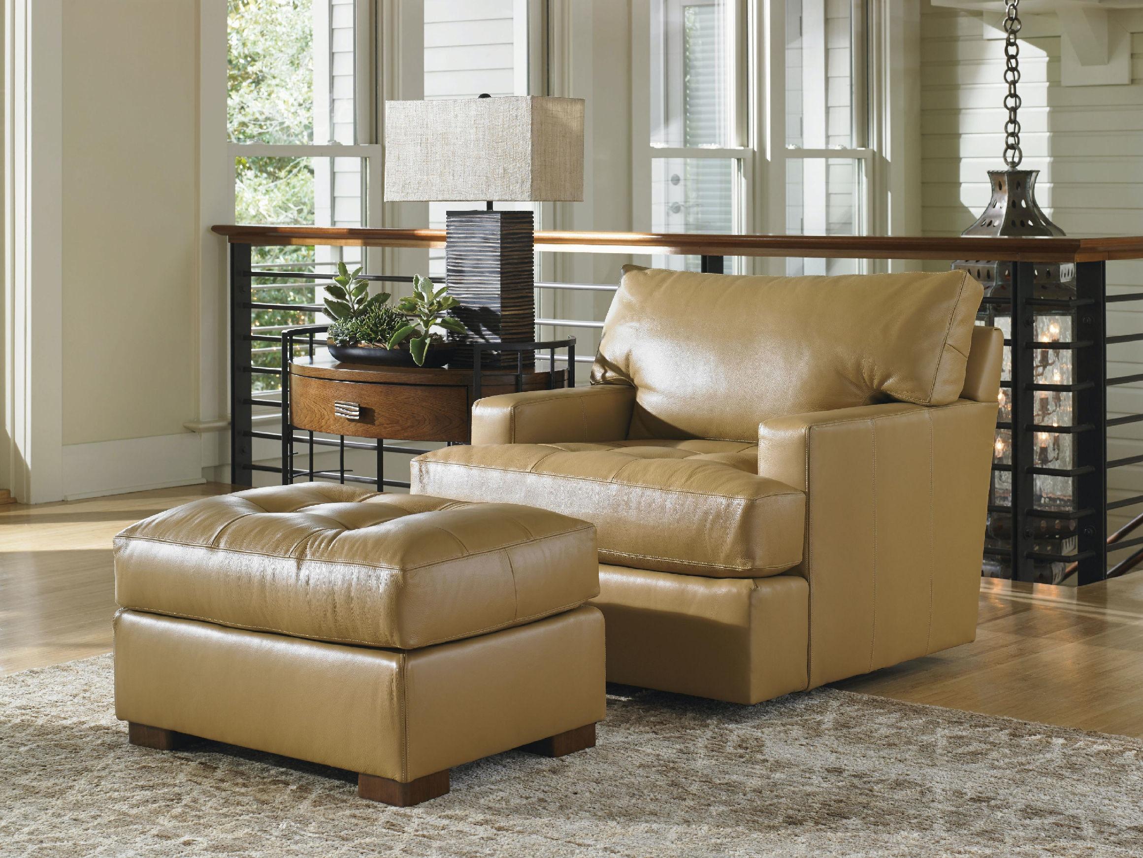 Lexington Living Room Osaka Leather Swivel Chair 729411SW01