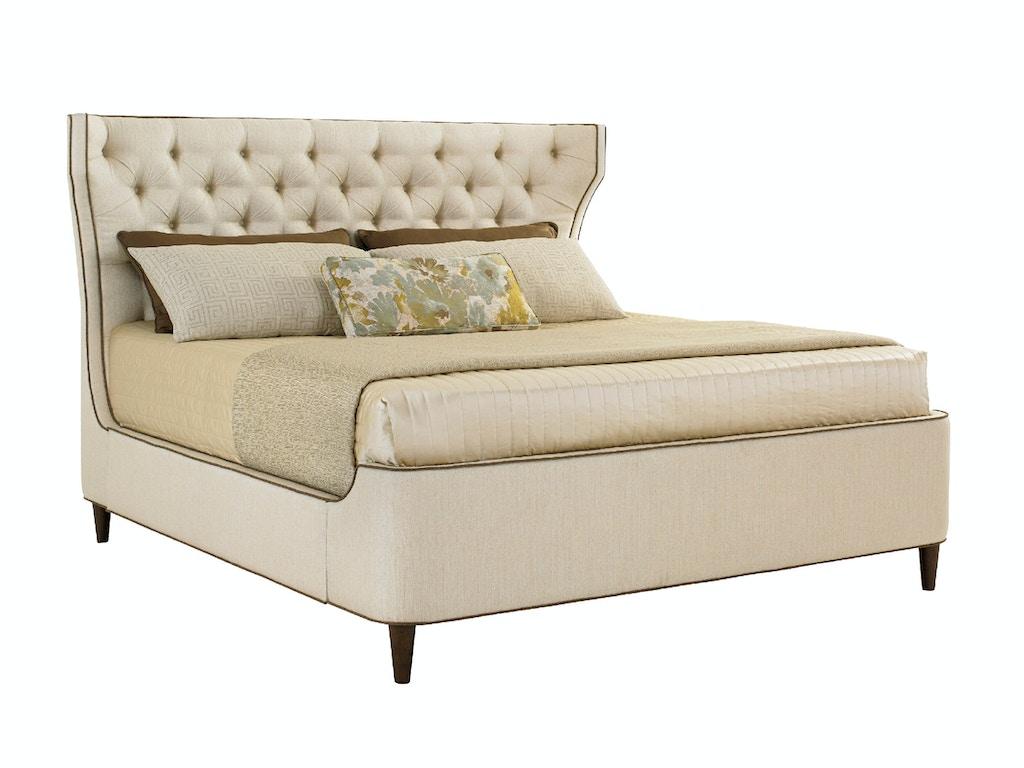 platform beds dallas tx - lexington bedroom mulholland upholstered platform bed queen