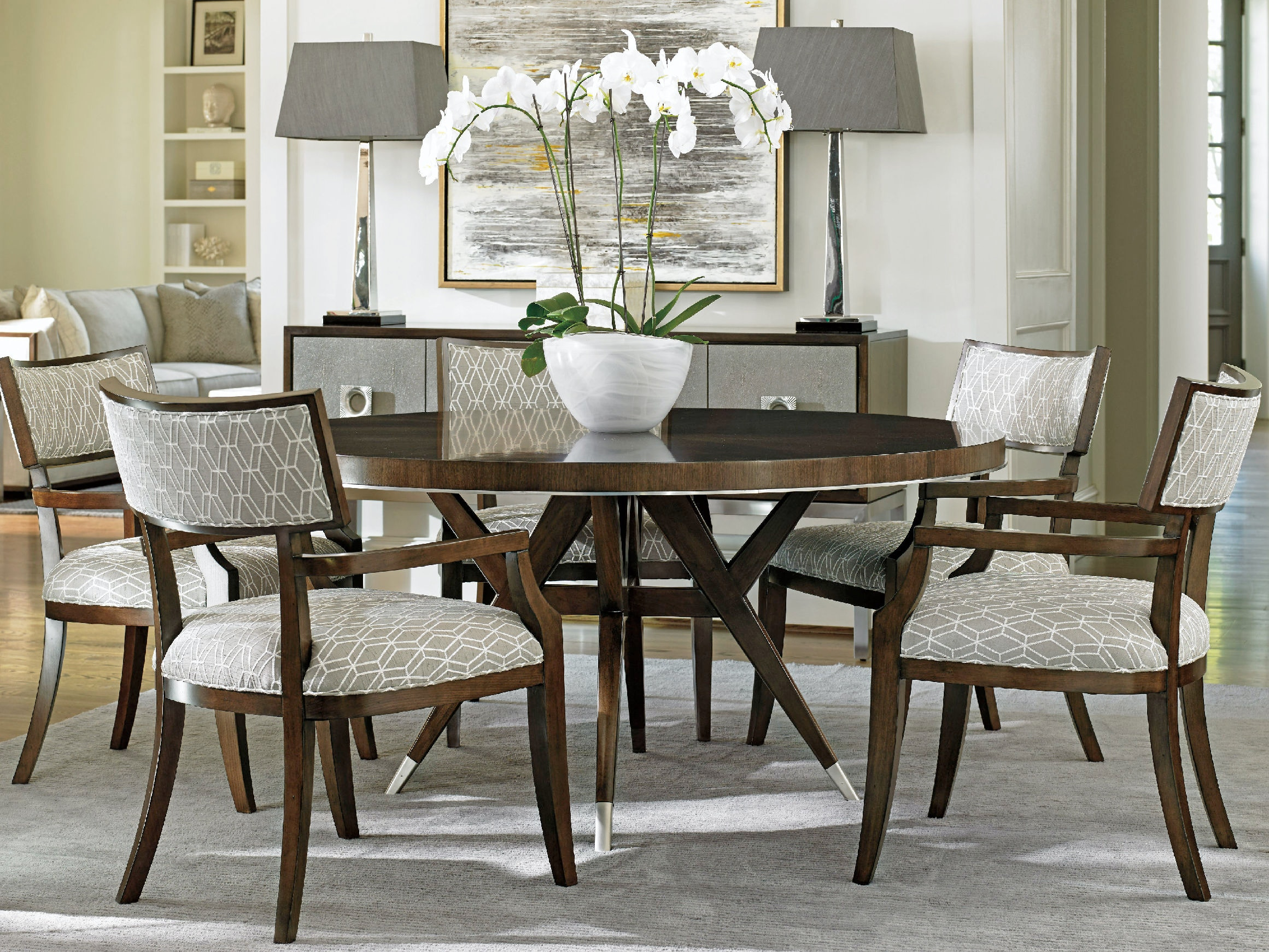 Lexington Dining Room Strathmore Round Dining Table 729  : 729875crs from www.stacyfurniture.com size 1024 x 768 jpeg 121kB