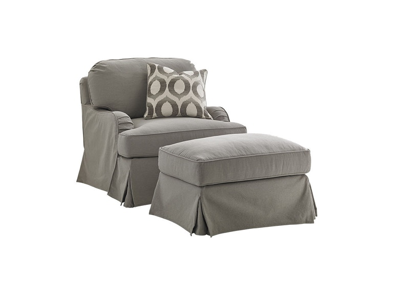 Lexington Stowe Slipcover Swivel Chair 7476-11SWGY