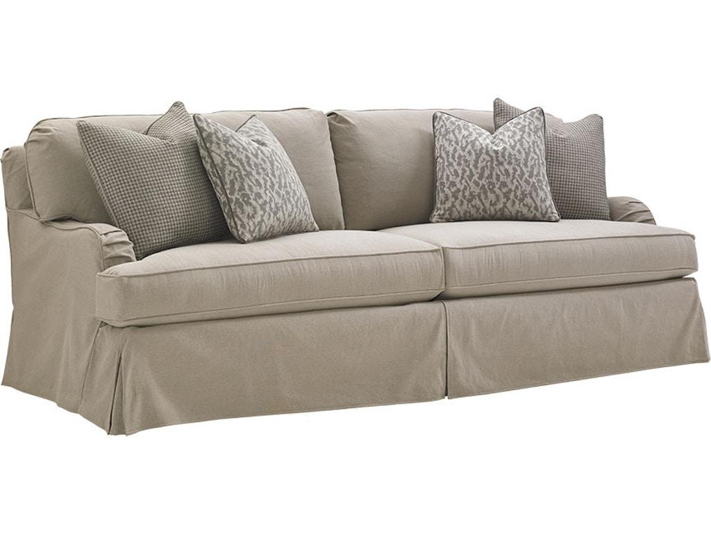Lexington Living Room Stowe Slipcover Sofa 7476 33gy