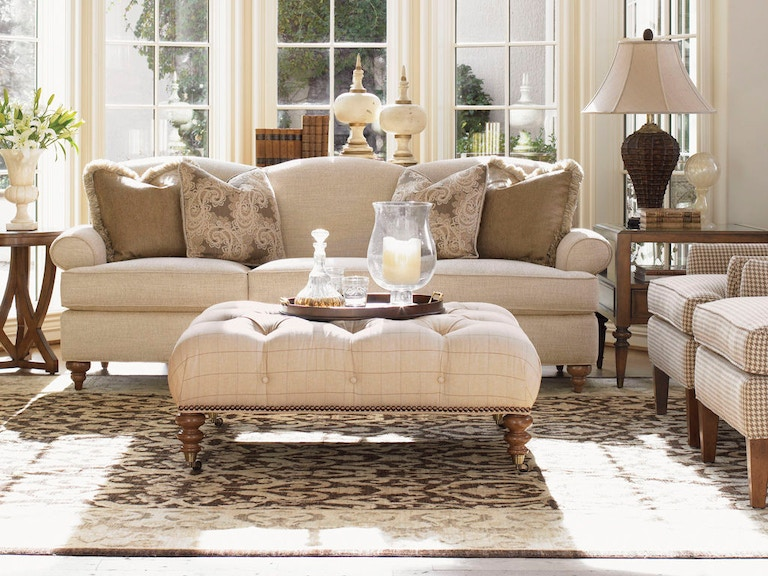 Lexington Living Room Montgomery Tight Back Sofa 7586 33 Bacons Furniture Sarasota And Port