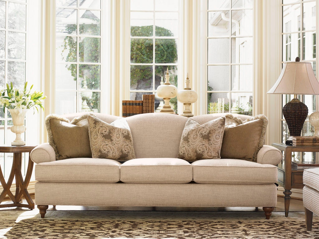 ... Lexington Montgomery Tight Back Sofa 7586 33