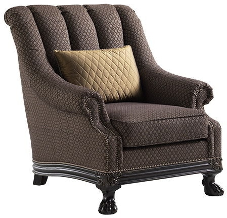 Ivory cabinets ivory fabric arm chair ivory living room furniture - Lexington Living Room Cadorna Chair 7715 11 Tin Roof