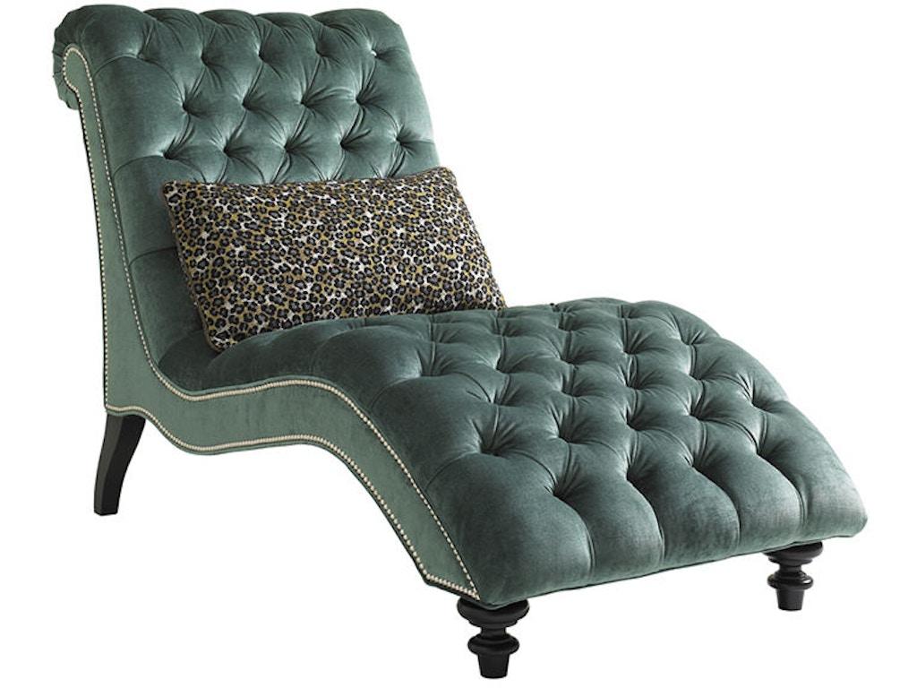 Lexington living room althena chaise 7802 75 habegger for Chaise wayne