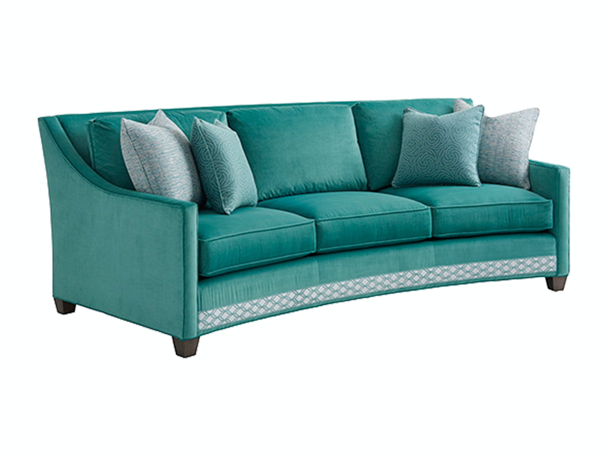 Lexington Living Room Valenza Curved Sofa