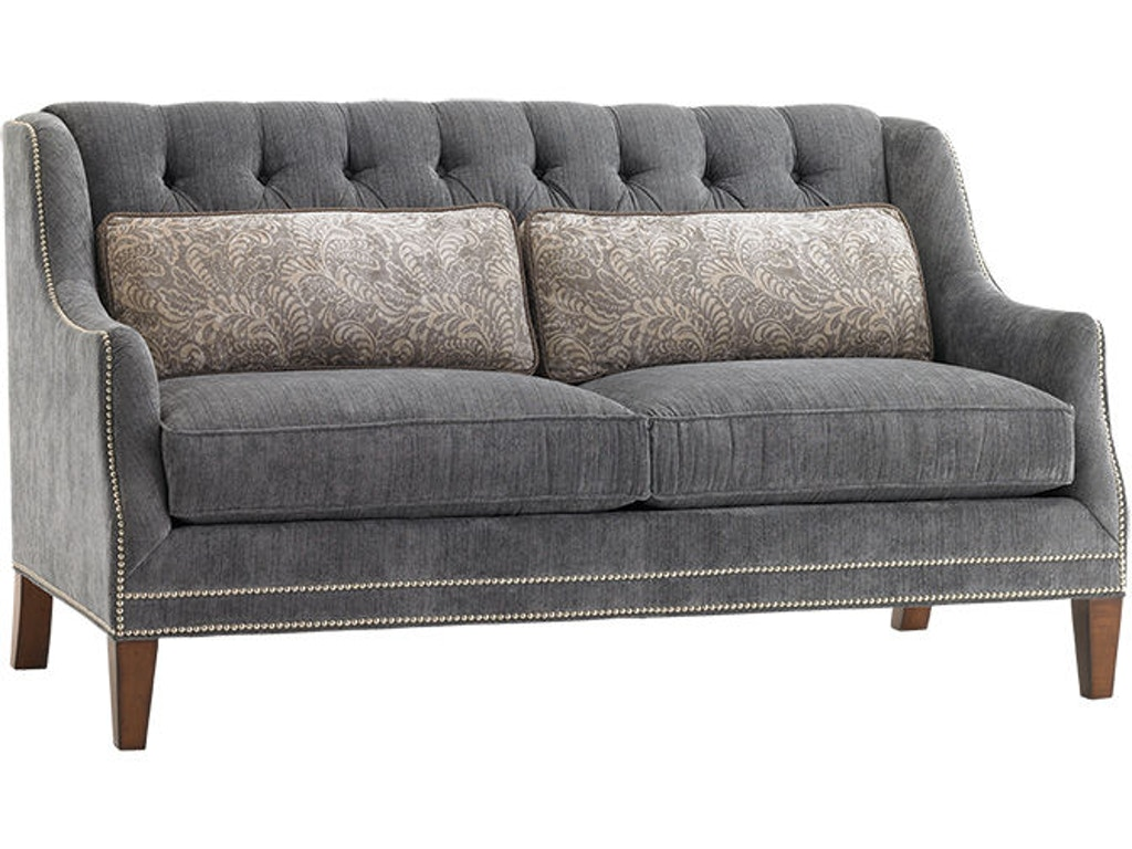 Lexington living room sloane settee 7980 23 habegger for Furniture 23