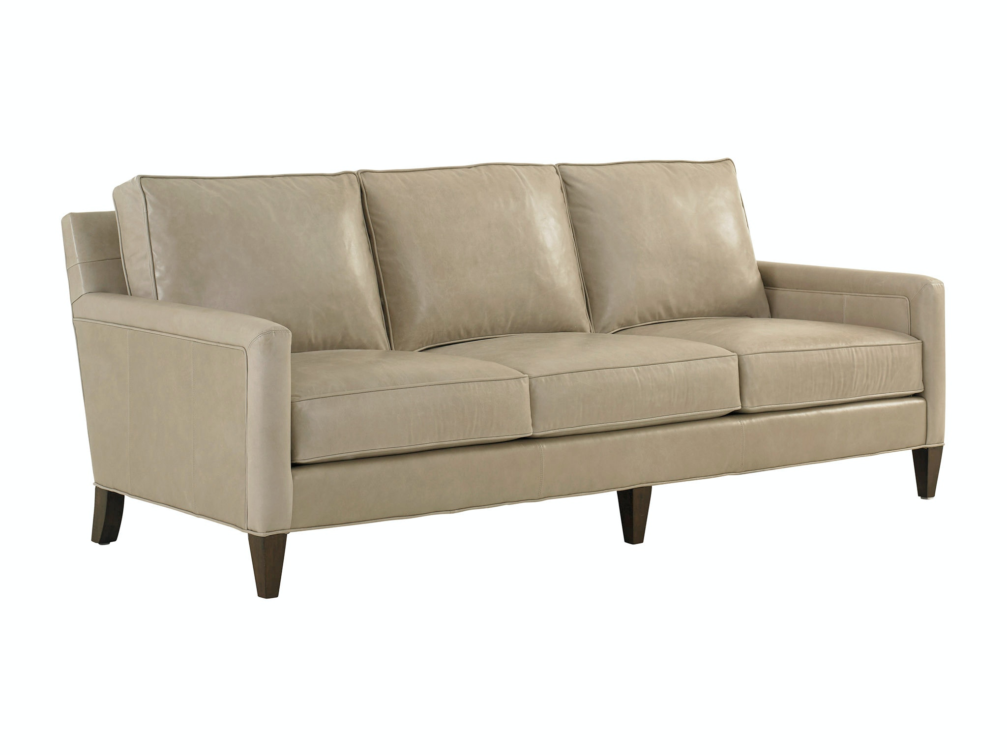 Lexington Living Room Foxboro Leather Sofa 9407-33-01 - Ennis Fine Furniture - Boise, ID, Reno ...
