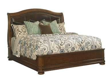 Chandler Mills Sleigh Bed 6/6 King