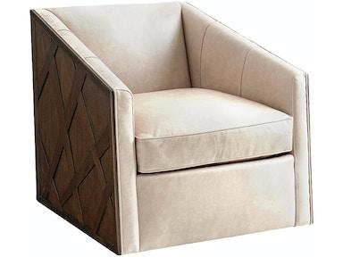 Lexington Living Room Sullivan Leather Swivel Chair LL1922-11SW ...
