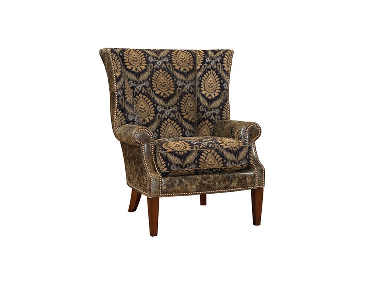 Lexington Marissa Leather Wing Chair LL7204-11