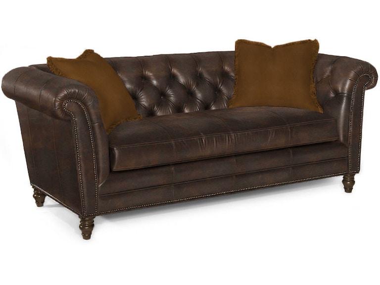 Lexington Living Room Westchester Leather Sofa Ll7250 33 Blockers Furniture Ocala Fl