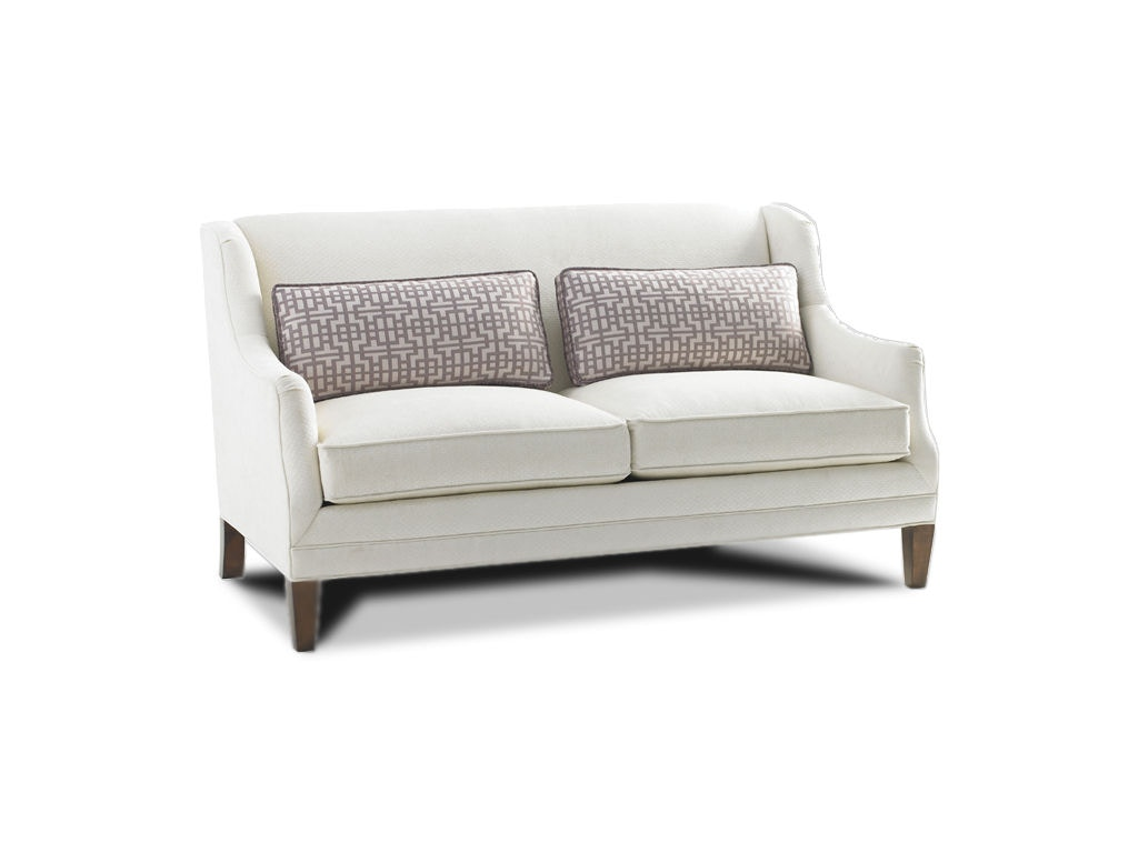 Lexington Living Room Sofia Leather Love Seat LL7602 22   Ennis Fine  Furniture   Boise