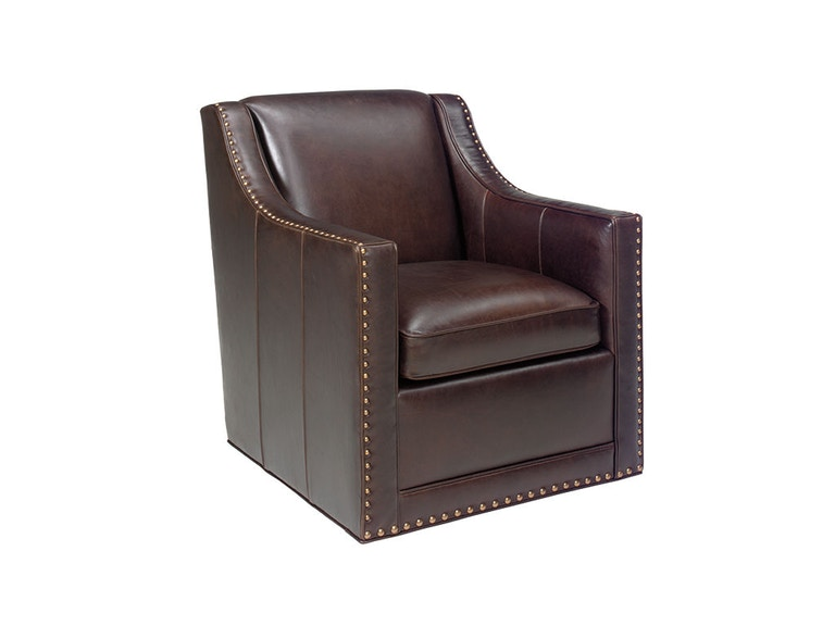 Lexington Barrier Leather Swivel Chair LL7620-11SW