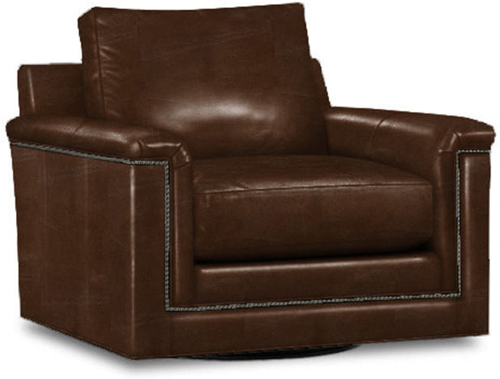 Lexington Living Room Balance Leather Swivel Chair Ll7886