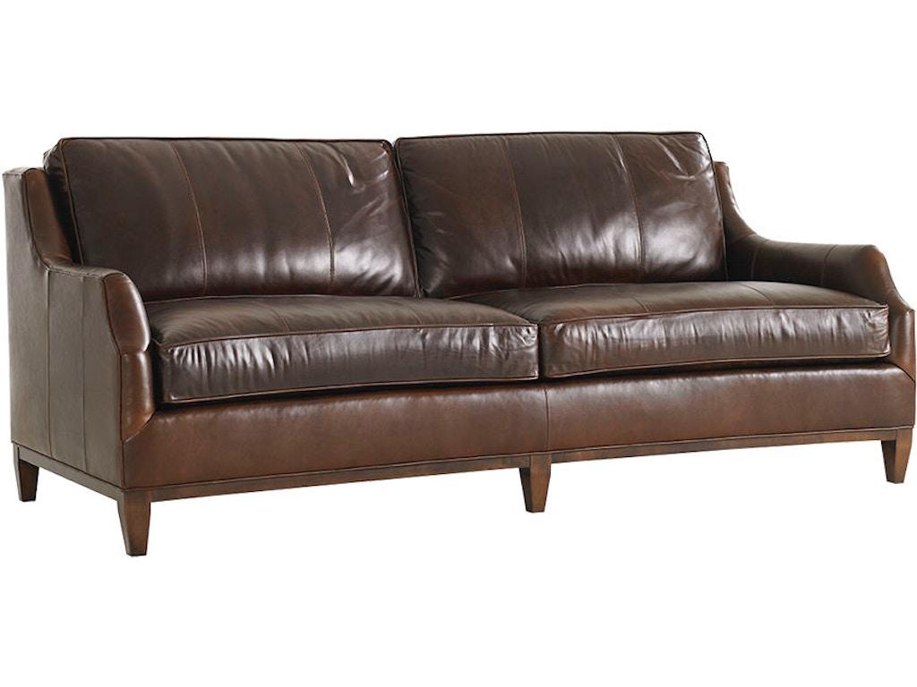 Lexington Living Room Conrad Sofa Leather Ll7991 33 Blockers Furniture Ocala Fl