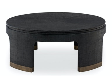 Bernhardt Living Room Round Cocktail Table
