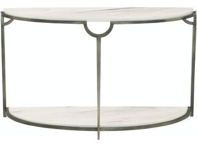Bernhardt Living Room Demilune Console Table